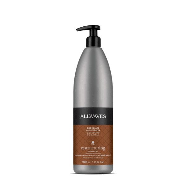 Restructuring – Shampoo ristrutturante Cioccolato e Cheratina